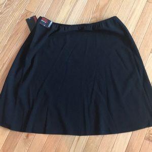 Briggs Black A-Line Skirt